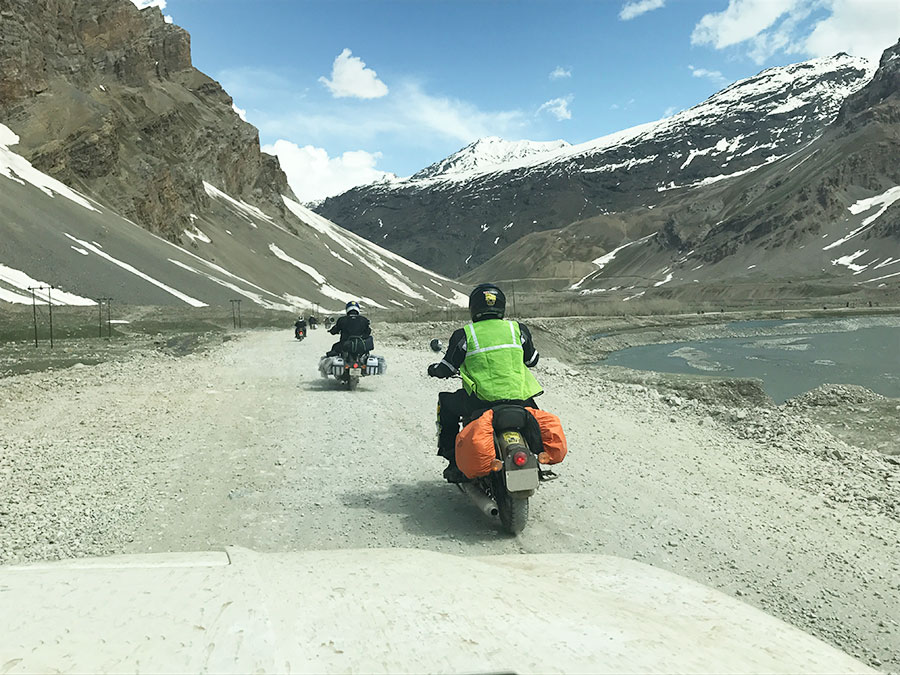 Bike Rental in Delhi for Leh