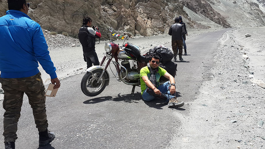 Manali to Leh Bike Trip Cost