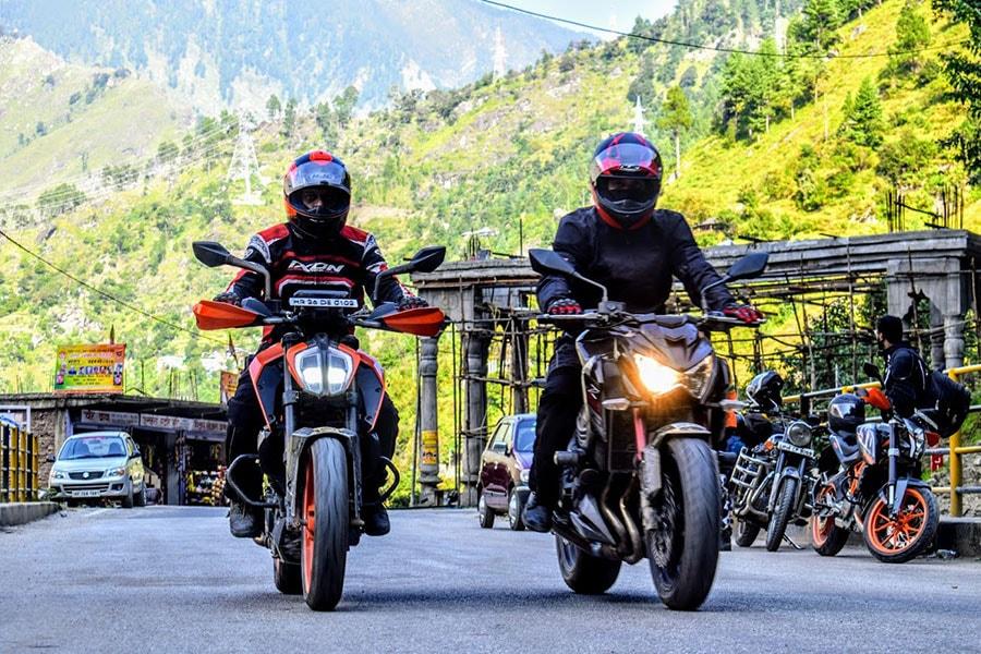 Srinagar to Leh Bike Rent