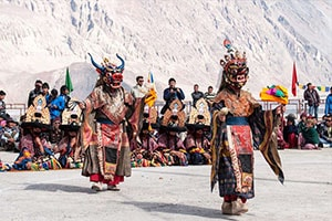 Galdan Namchot Festival Leh Ladakh
