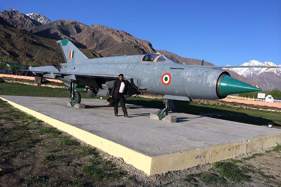 Kargil War Memorial Plane