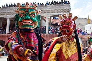 Yuru Kabgyat Festival Leh Ladakh