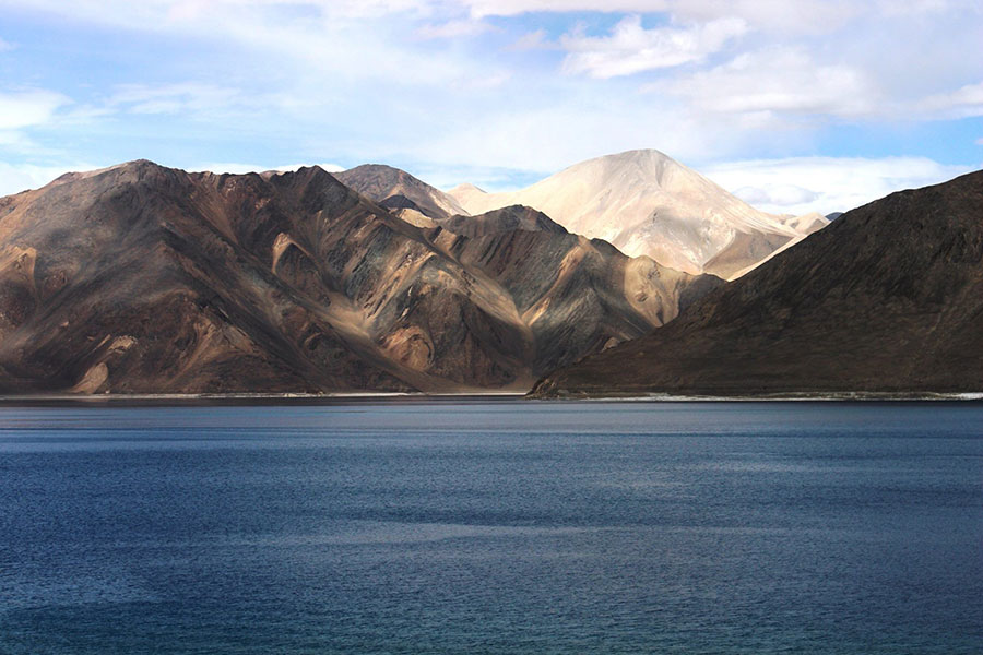 Pangong Lake Sunrise