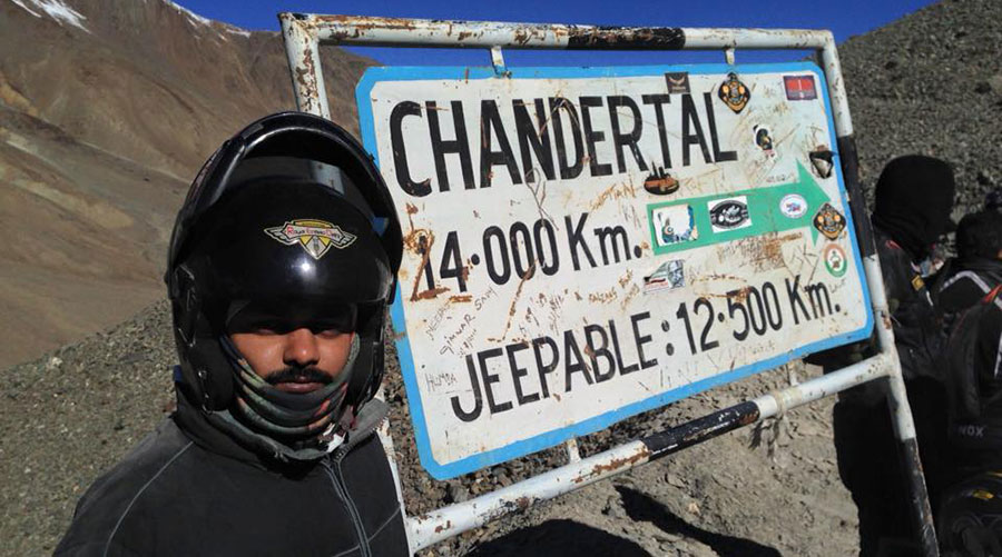 ChanderTal Sign Board 14KM