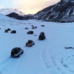 White Spiti Valley in Winters by Road